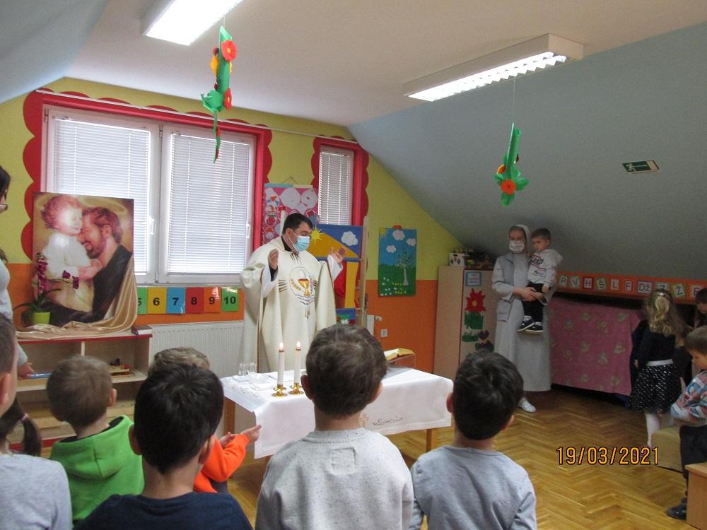 Proslava sv. Josipa u vrtiću